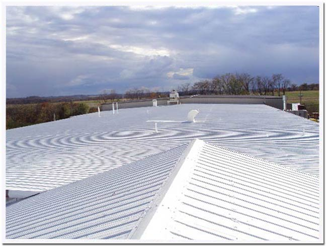Ohio metal roof restoration contractor Cool Roof Solutions in Northeast Ohio