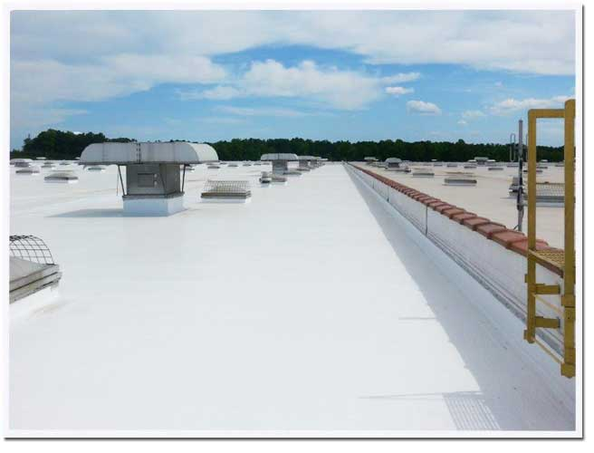 Cool Roof Solutions in Ohio Specializing in Energy-efficient Seamless Roofs for Flat and Metal Roofs with Conklin Roofing Systems
