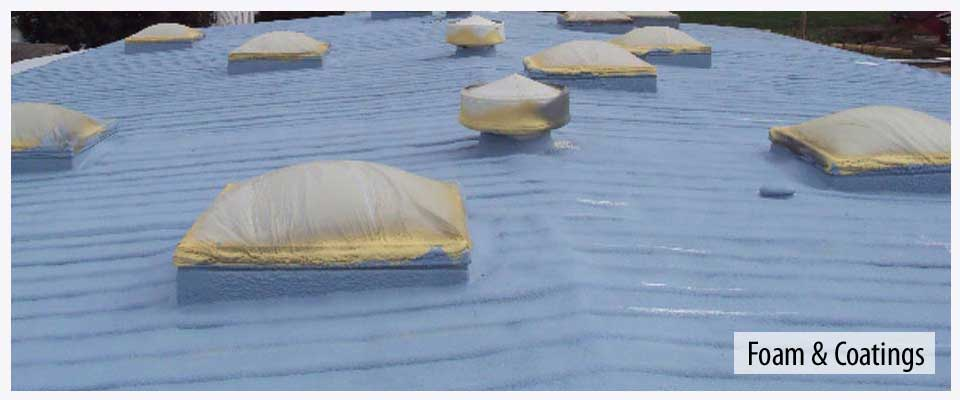 Foam and coatings by Cool Roof Solutions